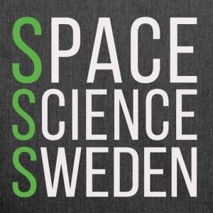 Space Science Sweden - white - Shoulder Bag made from recycled material