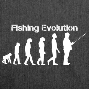 Fishing evolution - Shoulder Bag made from recycled material