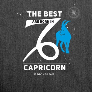 Capricorn Capricorn horoscope birthday best born - Shoulder Bag made from recycled material
