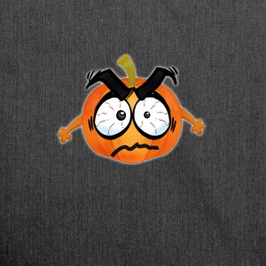 Pumpkin Happy Thanksgiving T-Shirt emoji comic wit - Shoulder Bag made from recycled material