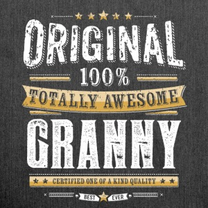 Original 100% Awesome Granny - Schultertasche aus Recycling-Material