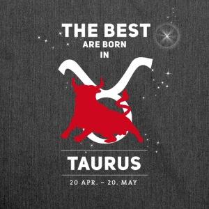 taurus bull zodiac horoscope signs astrology - Shoulder Bag made from recycled material