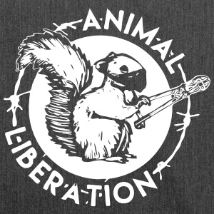 Squirrel Animal Liberation - Sac bandoulière 100 % recyclé