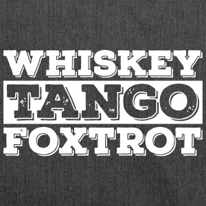 Whisky - Tango - Foxtrot (wtf) - Schultertasche aus Recycling-Material