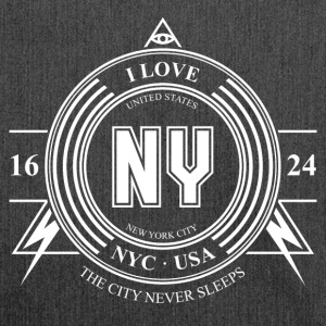 New York Badge - Skuldertaske af recycling-material