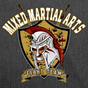 MMA Fight Team T-shirt / te - Axelväska av återvinningsmaterial