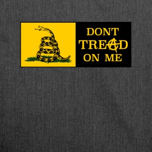 DONT TREAD ON ME ANARCHOCAPITALISM - Shoulder Bag made from recycled material
