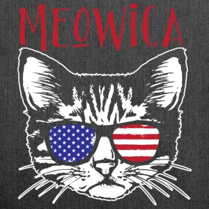 Meowica - Schultertasche aus Recycling-Material