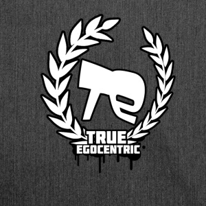 True Egocentric Logo - Shoulder Bag made from recycled material