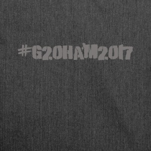 G20 Summit in Hamburg July 2017 - Shoulder Bag made from recycled material