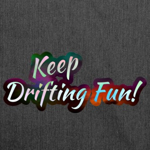 Keep Drifting Fun Magic Color - Schultertasche aus Recycling-Material