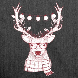 Cool Reindeer Design - Shoulder Bag made from recycled material