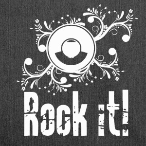Rock it - Passion Musikk - Skulderveske av resirkulert materiale