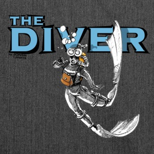 the_diver - Schultertasche aus Recycling-Material