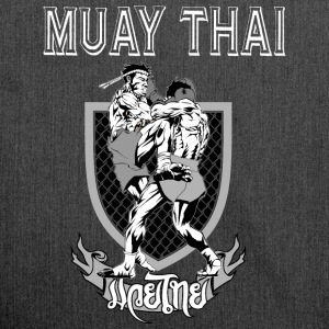 Muay Thai - Schultertasche aus Recycling-Material
