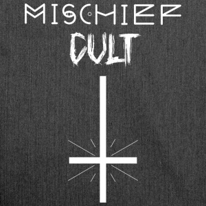Mischief Cult | Upside Down Cross Design | okkulte - Skulderveske av resirkulert materiale