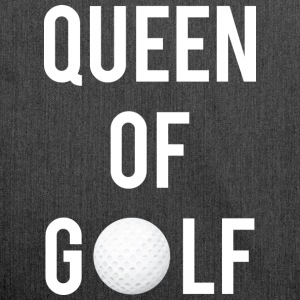 Queen of Golf - Axelväska av återvinningsmaterial