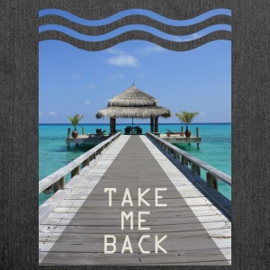 Take me back - Shoulder Bag made from recycled material