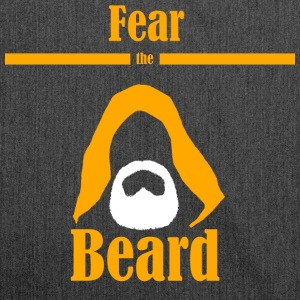 Fear the beard jedi yedi beard hood - Shoulder Bag made from recycled material