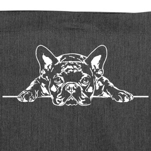 French Bulldog - French Bulldog - Shoulder Bag made from recycled material