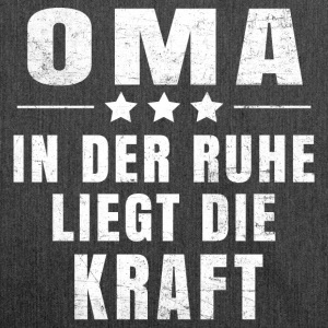 Oma T-Shirt - Schultertasche aus Recycling-Material