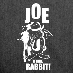 Joe The Rabbit! - Shoulder Bag made from recycled material