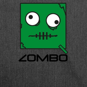 Zombie 'ZOMBO' Monster | Qbik design series - Shoulder Bag made from recycled material