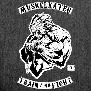 Muskelkater Fight Club - Train And Fight - Schultertasche aus Recycling-Material