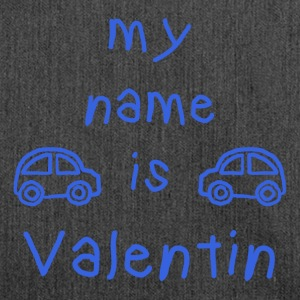 VALENTIN MY NAME IS - Shoulder Bag made from recycled material