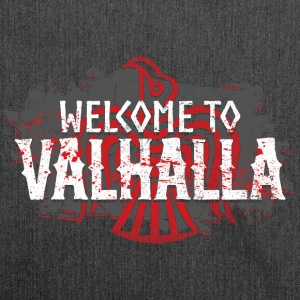 Welcome To Valhalla - Schultertasche aus Recycling-Material