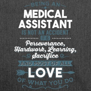 Love what you do - Medical Assistant - Schultertasche aus Recycling-Material