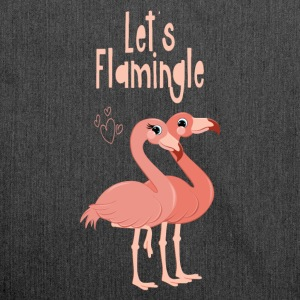 Let's Flamingle - Shoulder Bag made from recycled material