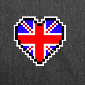 LOVE United Kingdom - Schultertasche aus Recycling-Material