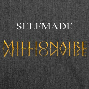 Self Made Millionaire or - Sac bandoulière 100 % recyclé