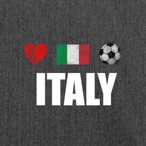 Italia Italiano Calcio Calcio T-shirt - Borsa in materiale riciclato