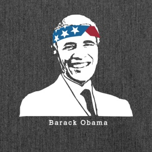 Il presidente Barack Obama American Vintage Patriot - Borsa in materiale riciclato