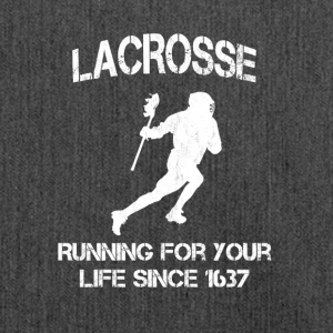 Lacrosse - Running for your life since 1637 - Schultertasche aus Recycling-Material