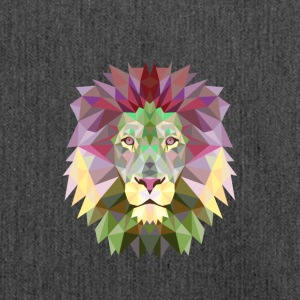 løve Lion Mandala Yoga Meditation konge jungle - Skuldertaske af recycling-material