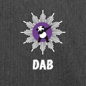 dab panda manteau tamponnant touché officiellement Badge - Sac bandoulière 100 % recyclé