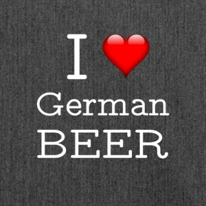 I Love German Beer - Shoulder Bag made from recycled material