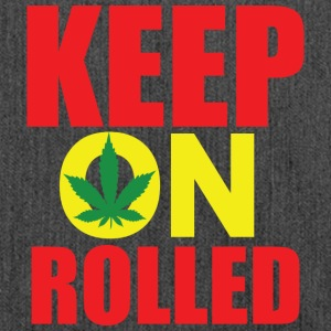 Keep on Rolled - Schoudertas van gerecycled materiaal