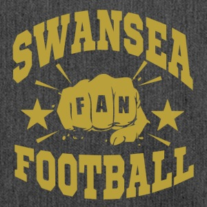 Swansea Football Fan - Shoulder Bag made from recycled material