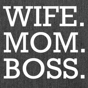 WIFE MOM BOSS WMB - Schoudertas van gerecycled materiaal