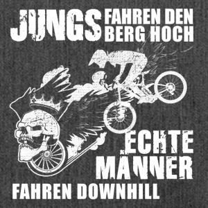 Downhill MTB - Schultertasche aus Recycling-Material