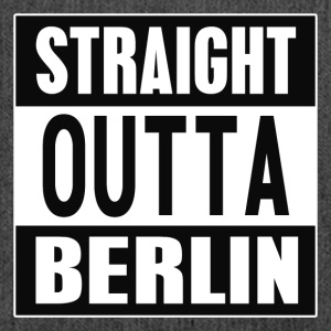 Straight outta Berlin - Shoulder Bag made from recycled material