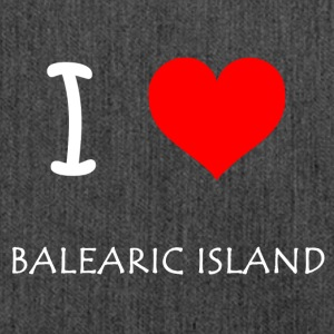 I Love Balearic Iceland - Shoulder Bag made from recycled material