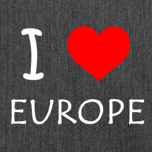 I love Europe - Schultertasche aus Recycling-Material