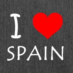I Love Spain - Schultertasche aus Recycling-Material