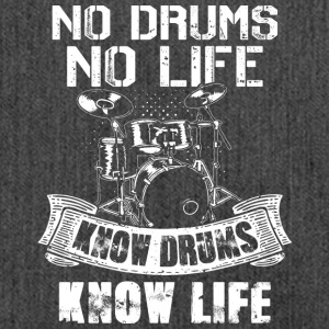 No Drums No Life Know Drums Know Life - Shoulder Bag made from recycled material