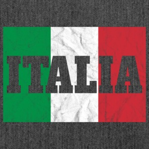 Italia Flag - Italien Shirt - Schultertasche aus Recycling-Material